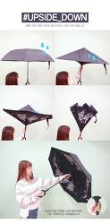 C형 거꾸로 우산