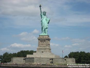뉴욕의 상징 자유의 여신상 (브루클린 브릿지)