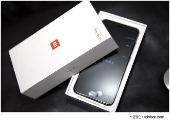 샤오미 미6 개봉기 (Xiaomi Mi6) 정말 엄청난 가성비폰