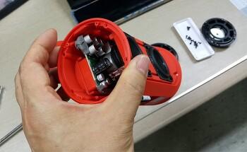 블루투스 스피커 JBL Charge2 Plus 고장 수리를 위한 분해 방법