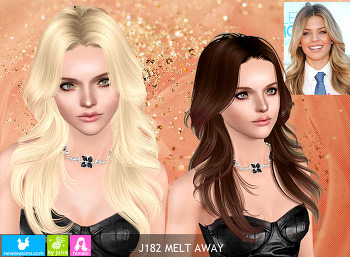 NewSea-SIMS3-hair-J182-Melt Away