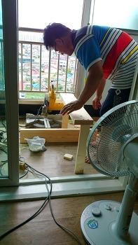 원목테이블 만들기