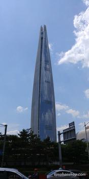 롯데월드타워 전망대 구경-LG G6