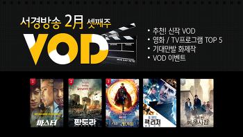 [VOD 소식] 2월 3째주 신작 VOD '모아나' / 서비스예정 VOD '더 킹', '어쌔신 크리드'