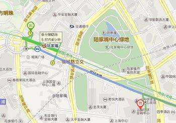 2016.04.16 상하이 세계금융센터(SWFC)에서 상하이 야경