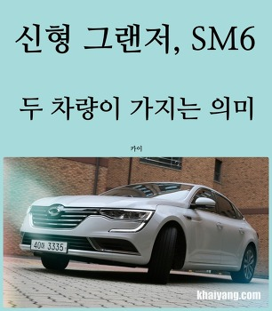 돌풍의 주역 SM6, 신형 그랜저 두 차량이 가지는 의미