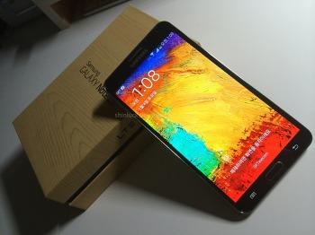 Samsung :: 삼성의 나름 최신 스마트폰! 대화면을 느껴라!! 갤럭시노트3 개봉기~