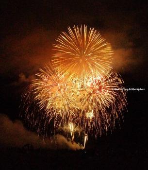 Jones Beach에서 독립기념일 불꽃놀이