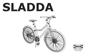 이케아 생활 자전거 Sladda 2016년 8월 시판 예정