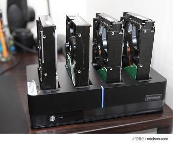 하드도킹스테이션 쉽게 하드디스크 USB로 연결하기