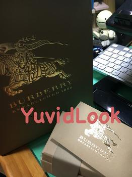 [YuvidLook구매보고서] 버버리 키링 버버리 키홀더 토마스베어 누나선물 버버리 가방참