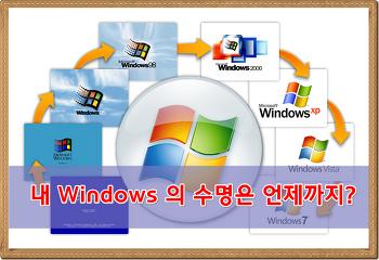 내 Windows의 수명은 언제까지일까?