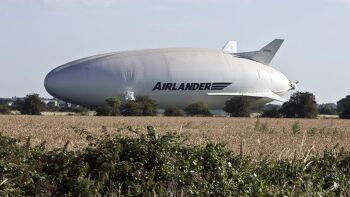 비행기보다 가성비가 좋은 세계 최대 비행선 Airlander10