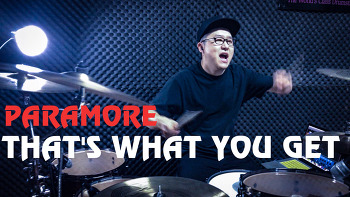 "Paramore(파라모어) - ""That's what you get"" Drum cover by ROP"
