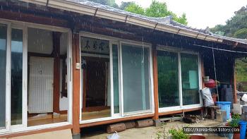 [대전맛집-은골할먼네집]대청호 풍경보면서 백숙 새우탕