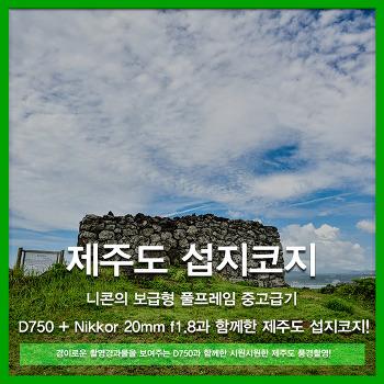 [리뷰] 제주도여행 어느 맑은날의 섭지코지 - 니콘 D750 + 20mm f1.8