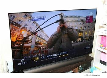 LG 올레드 TV AI ThinQ 우리집에 설치한 화질끝판 TV