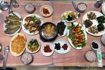 [무릉계곡맛집] 무릉회관, 산채더덕구이정식
