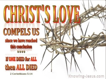 그리스도의 사랑에 사로 잡힌 자