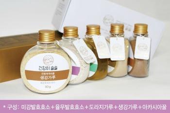【우리네 상품展】건강이솔솔_마을기업 선물세트