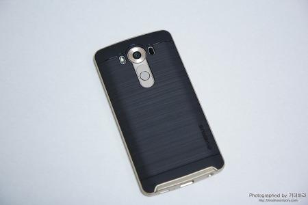 LG V10 모던 베이지와 딱 어울리는 케이스 추천, V10 베루스 하이프로쉴드 샤인골드