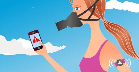 사물인터넷으로 대기오염으로부터 보호하세요!