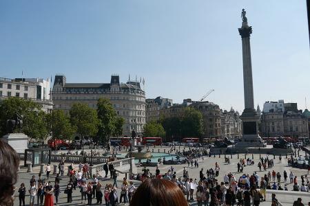 9월, 런던 트라팔가 광장 Trafalgar Square, 2014