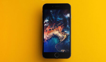 iDB 이번주 아이폰 배경화면 : 위성 이미지