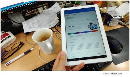 가성비 방수태블릿, 화웨이 미디어패드 M3 Lite 10 WP 회사원 태블릿