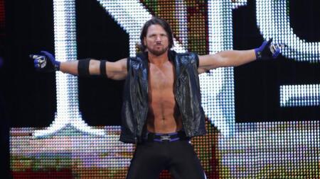 WWE 슈퍼스타 경기력이 경이로운 경이로운자 AJ 스타일스