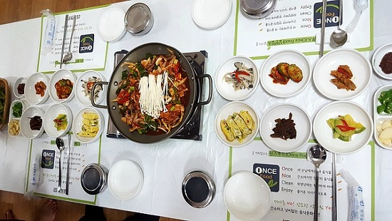 강원도 평창을 찾아 용평맛집에 가다 '그린식당'
