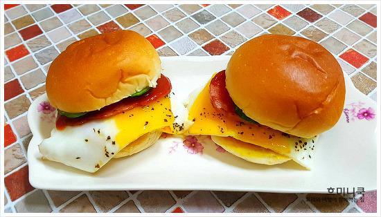든든한 아침메뉴!! 모닝빵 샌드위치 만들기