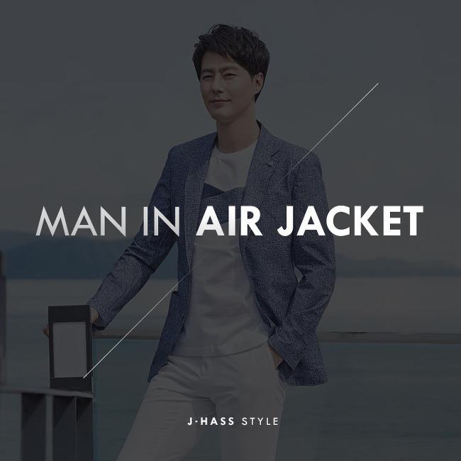 [제이하스 여름 재킷]장마에도 폭염에도 쿨한 파크랜드 아이스플러스 에어 재킷_남자여름재킷