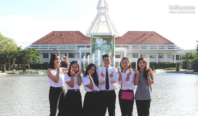 [대학생 브랜드 앰배서더] 태국 탐방 ③ 방콕에서 만난 청춘, 탐마삿대 청암재단 장학생