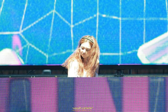 초극강 미모 DJ 샤넬 (Dj Shanell) EDM공연 평창동계올림픽 도심속 봅슬레이 광화문광장