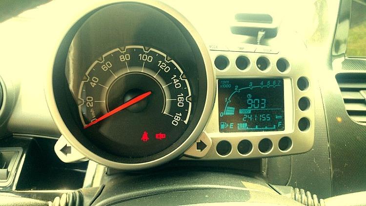 241,155km를 주행한 스파크