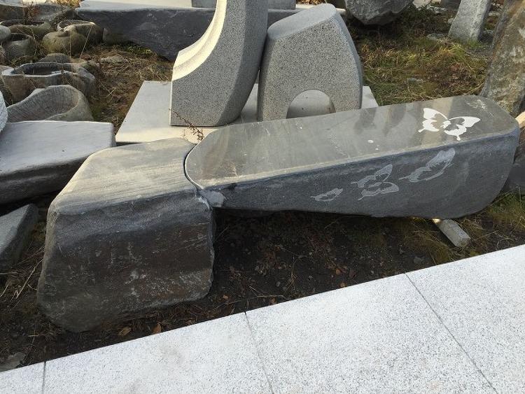 의자석(돌의자)-보령석(천연자연석, 연결의자, 나비의자)