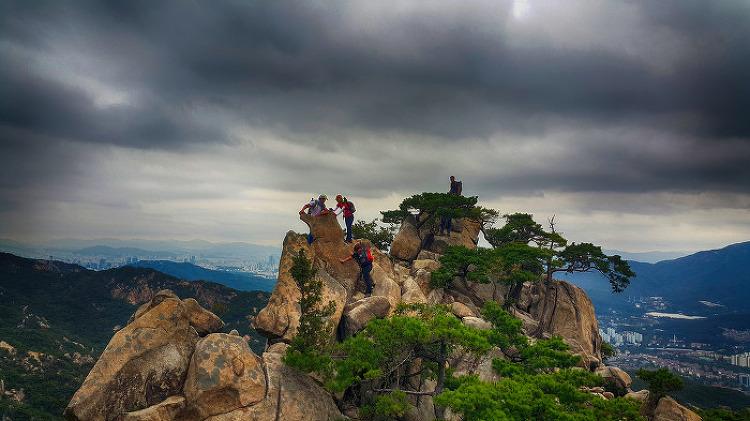 관악산 6봉-8봉 산행