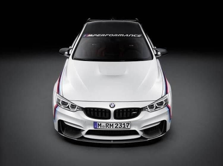 BMW at SEMA 2015.
