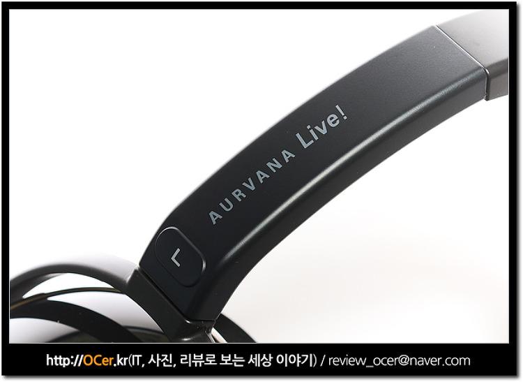 가성비 헤드폰 크리에이티브 오르바나 라이브 실제로 사용해보니 AURVANA Live
