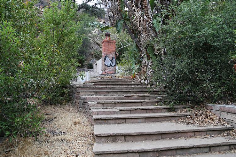 말리부 솔스티스캐년(Solstice Canyon), 산타모니카산맥(Santa Monica Mountains) 국립휴양지