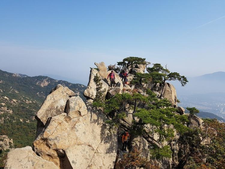 관악산 6봉 8봉 산행