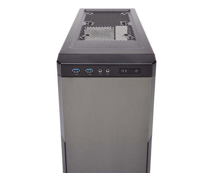 무소음 컴퓨터 PC 위한 커세어 케이스 Carbide 330R Titanium Edition