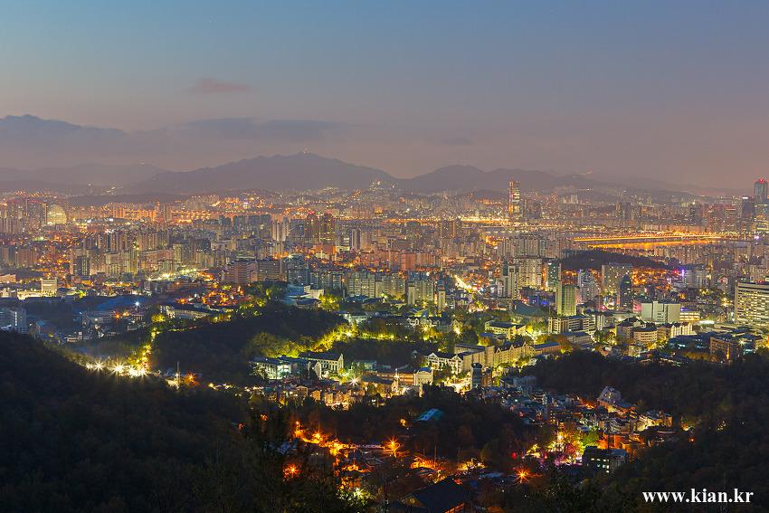 서울의 안산_121028