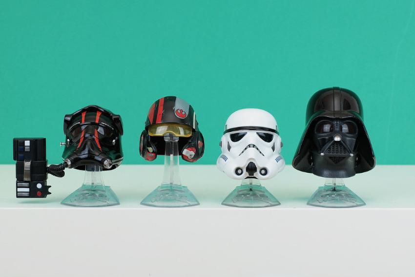 스타워즈 다스베이더와 스톰트루퍼 해즈브로 티타늄 헬멧 후기!