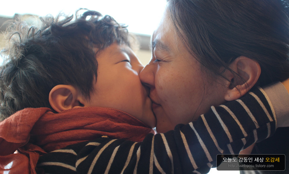 딸 부럽지 않은 아들의 사랑표현~♥♥♥