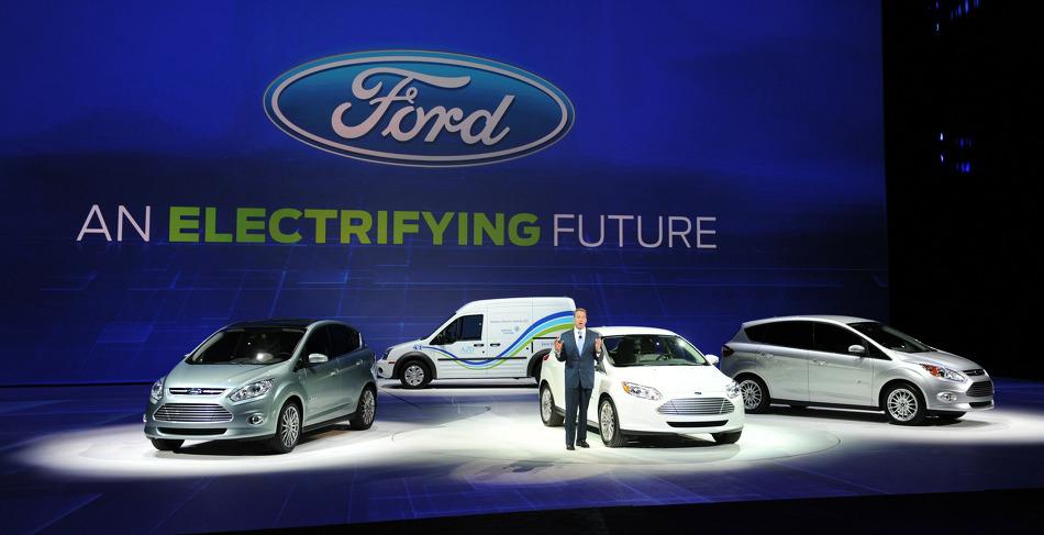 포드의 순수 전기차인 모델E가 2019년에 양산될 예정