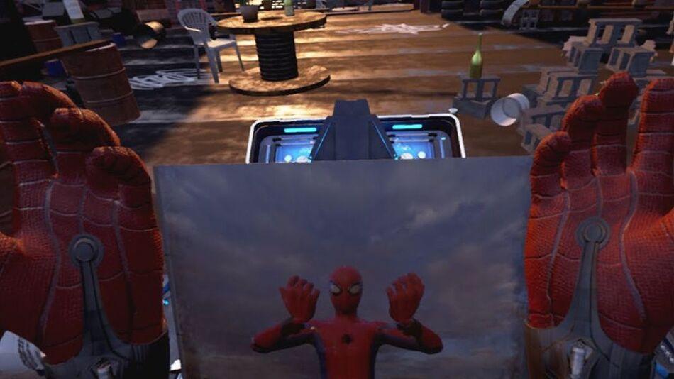 스파이더맨 VR게임은 무료전달.