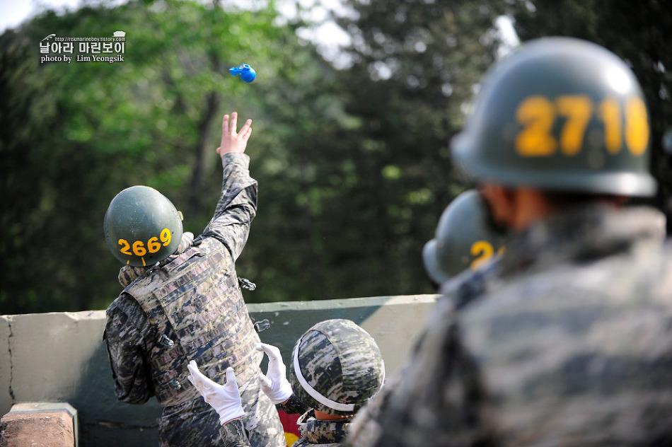 신병 1233기 2교육대 3주차 - 수류탄 투척훈련