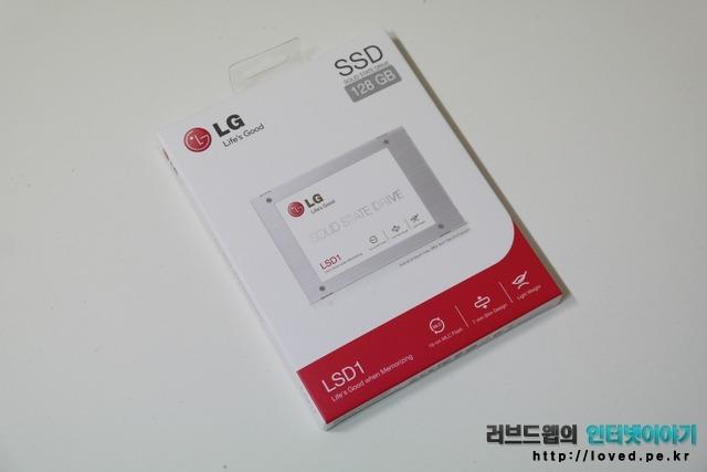 LG SSD LSD1 패키지 박스